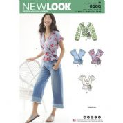 6560 New Look Pattern: New Look Ruffle Top Pattern